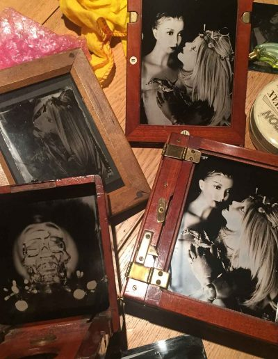 Framed Customers Plates - Wetplate Collodion