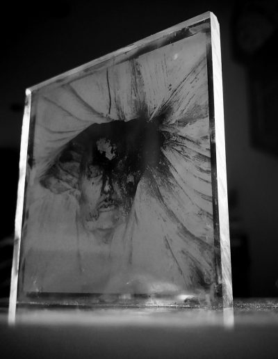 Glass Portrait - Wetplate Collodion