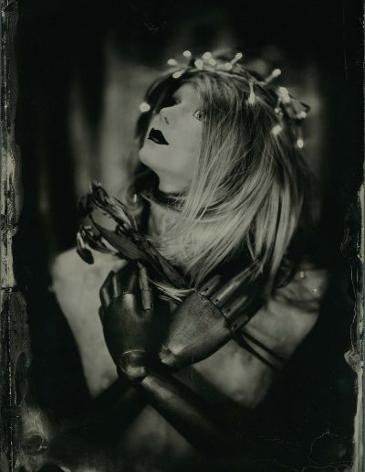 Joan of Tin - Studio - Wet plate collodion