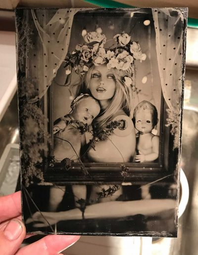 Portrait Tintype - Wetplate Collodion
